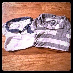 lightly worn one piece oshkosh and gymboree